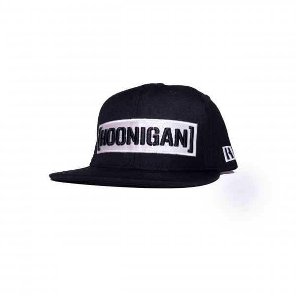 Hoonigan CENSOR BAR snapback black/white