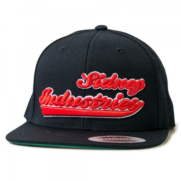 Cap Sidney Industries 3d black/red