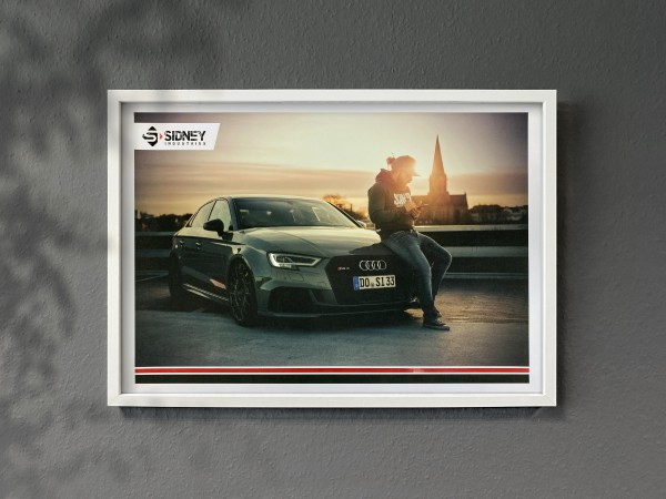 Poster Audi RS3 68x48cm