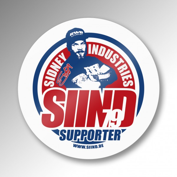 Sticker SIIND79 Supporter 10x10cm