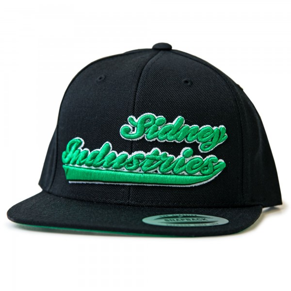 Cap Sidney Industries 3d black/green