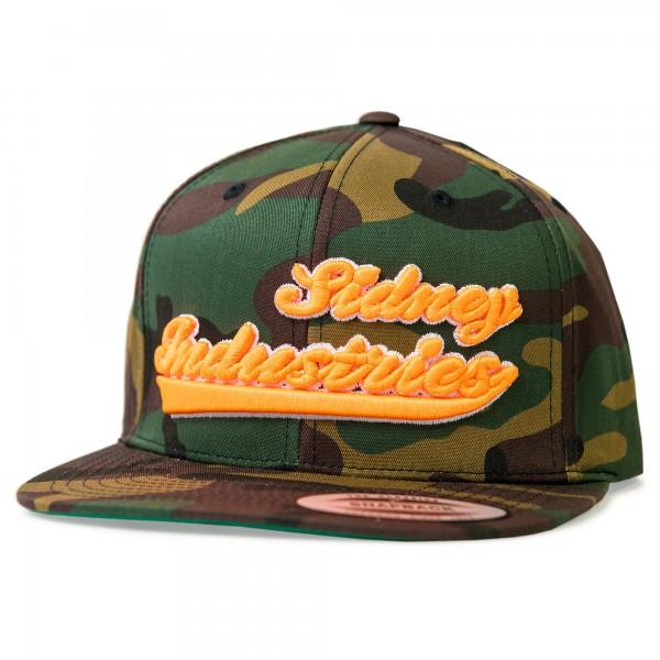 Cap Sidney Industries 3d army/orange