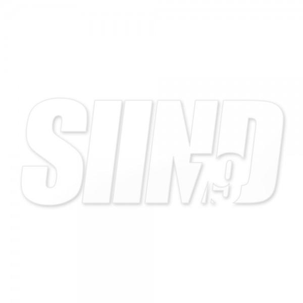 Sticker SIIND79 weiß 13x6cm