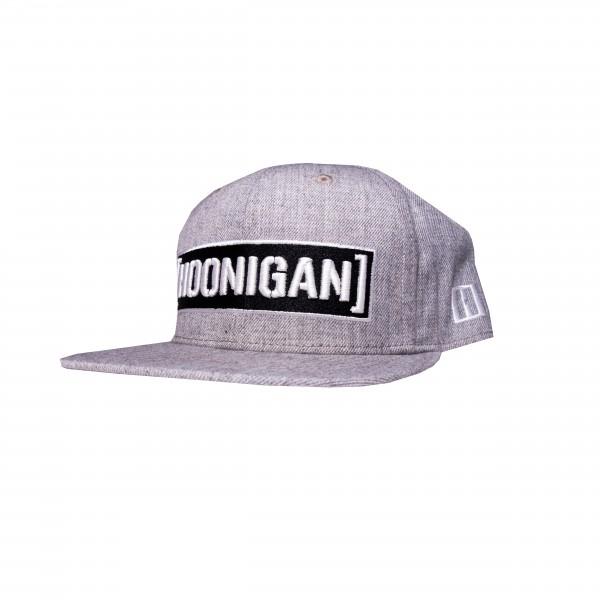 Hoonigan CENSOR BAR snapback grey