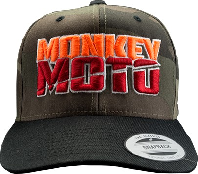 Cap Monkey Moto Camouflage