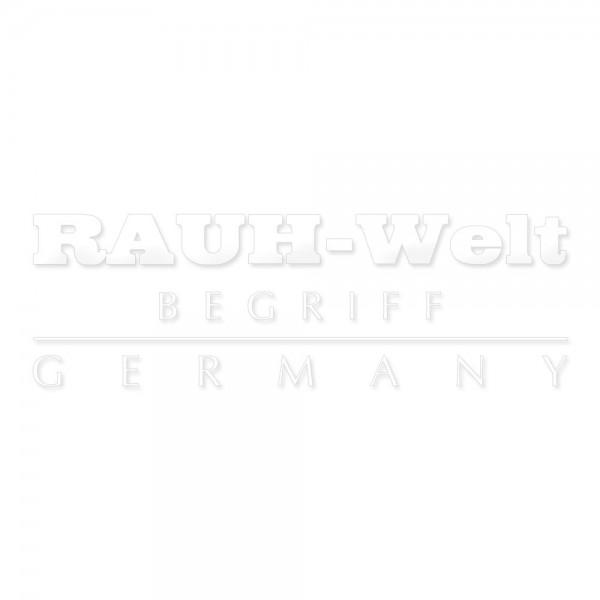 Sticker RAUH-Welt Begriff Germany weiß 13x6cm