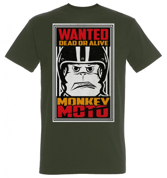 T-Shirt Monkey Moto Dead or Alive