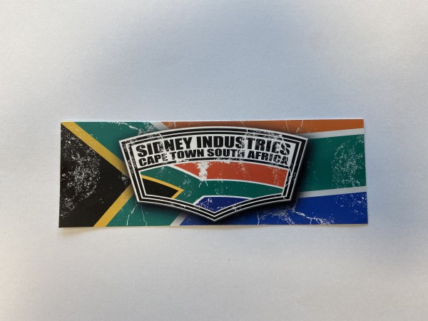 Sticker Cape Town South Africa 15x5cm
