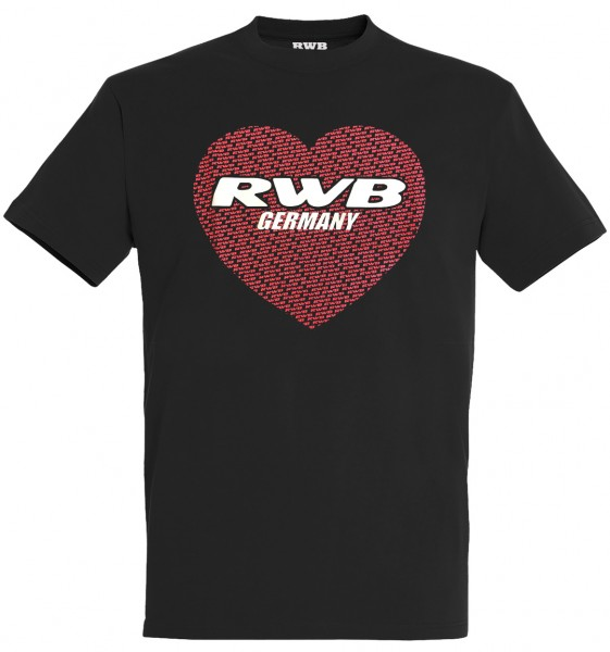 T-Shirt RWB Germany Herz