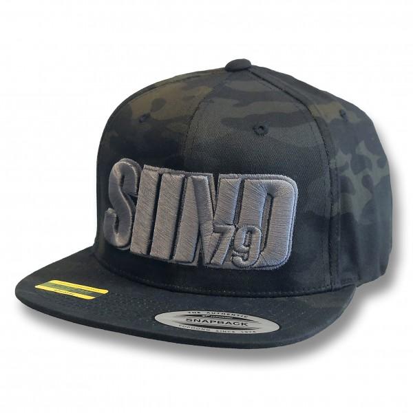 Cap SIIND79 3d Dark Camouflage
