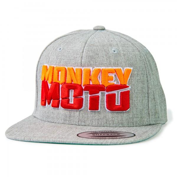 Cap Monkey Moto grey