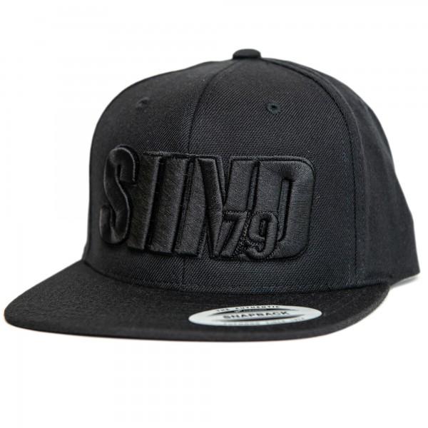 Cap SIIND79 3d black/black